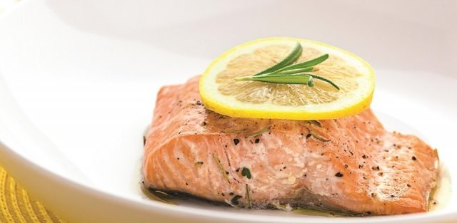 Lemon and Lime flavoured Salmon