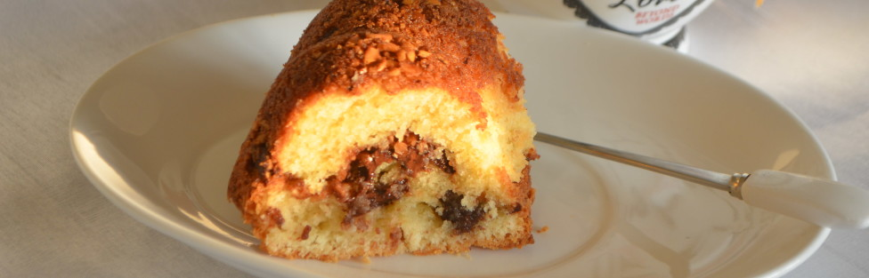Hazelnut Chocolate Coffee Cake